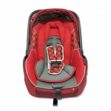 คาเมร่า Camera กระเช้า 343 Camera Baby Carseat ZAC II  สีแดง
