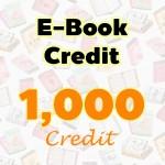 E-Book Credit 1000 credit