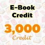 E-Book Credit 3000 credit