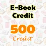 E-Book Credit 500 credit